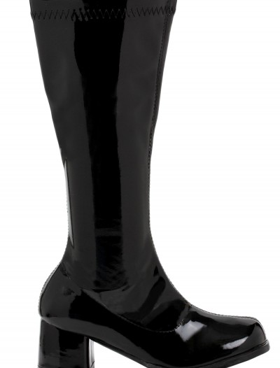 Girls Black Gogo Boots buy now