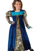 Girls Blue Camelot Princess Costume buy now