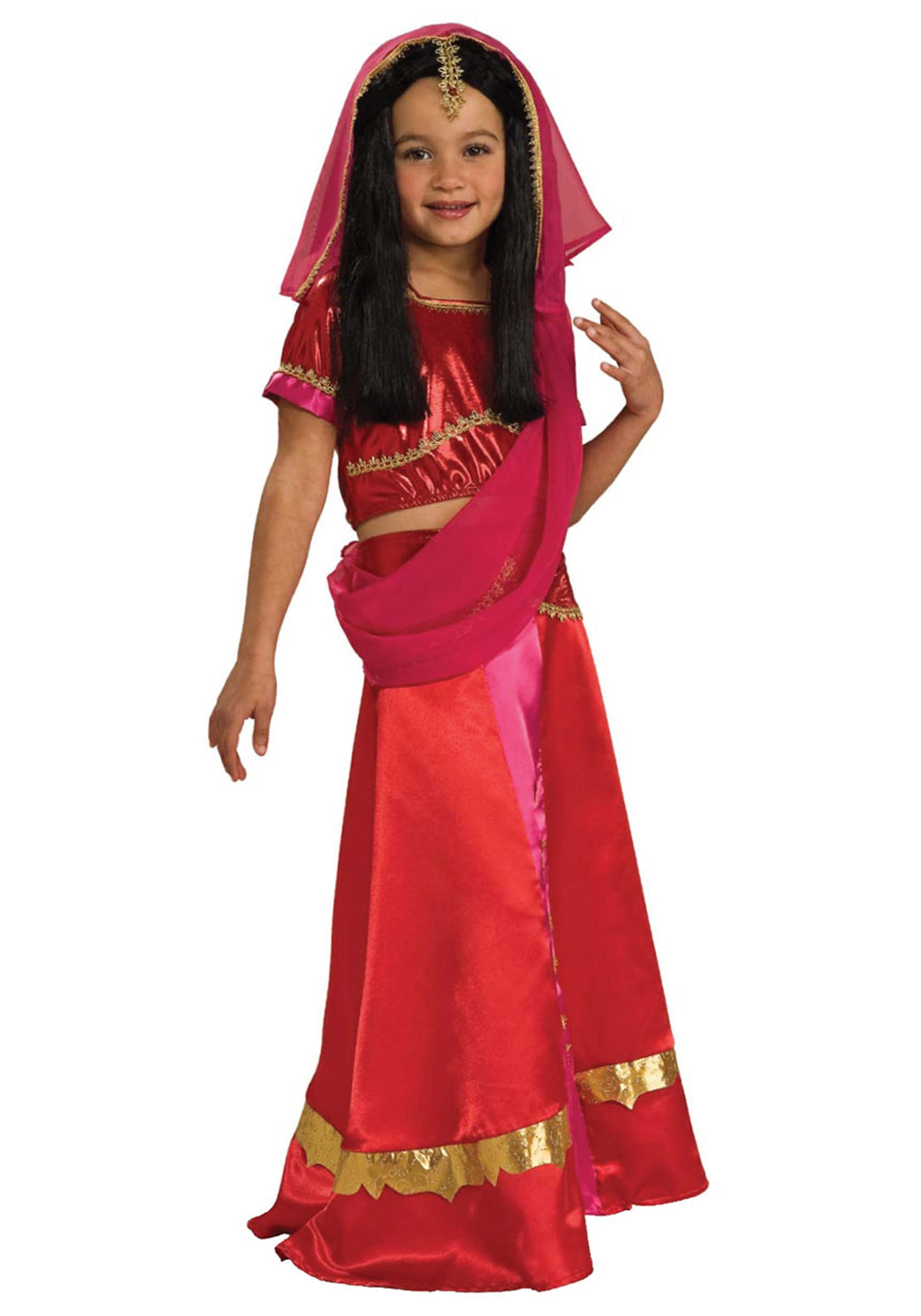Girls Bollywood Princess Costume  sc 1 st  Halloween Costumes & Girls Bollywood Princess Costume - Halloween Costumes