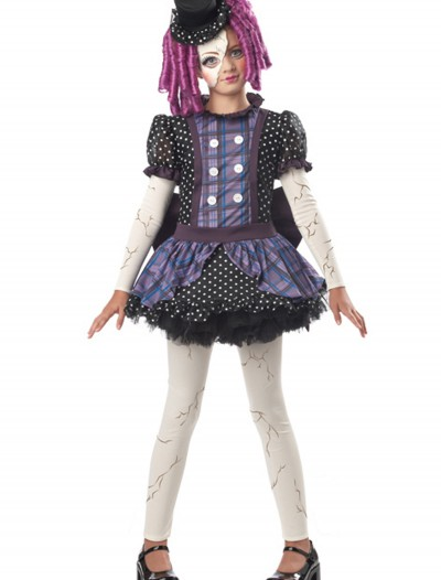 Girls Broken Doll Costume buy now