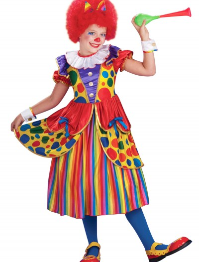 Girls Clown Princess Costume buy now