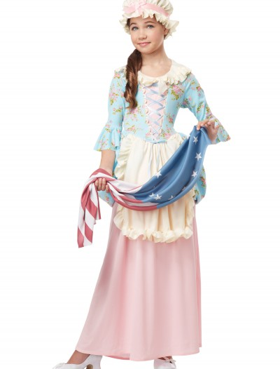 Girls Colonial Lady Costume buy now