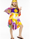 Girls Daisy Hippie Costume buy now
