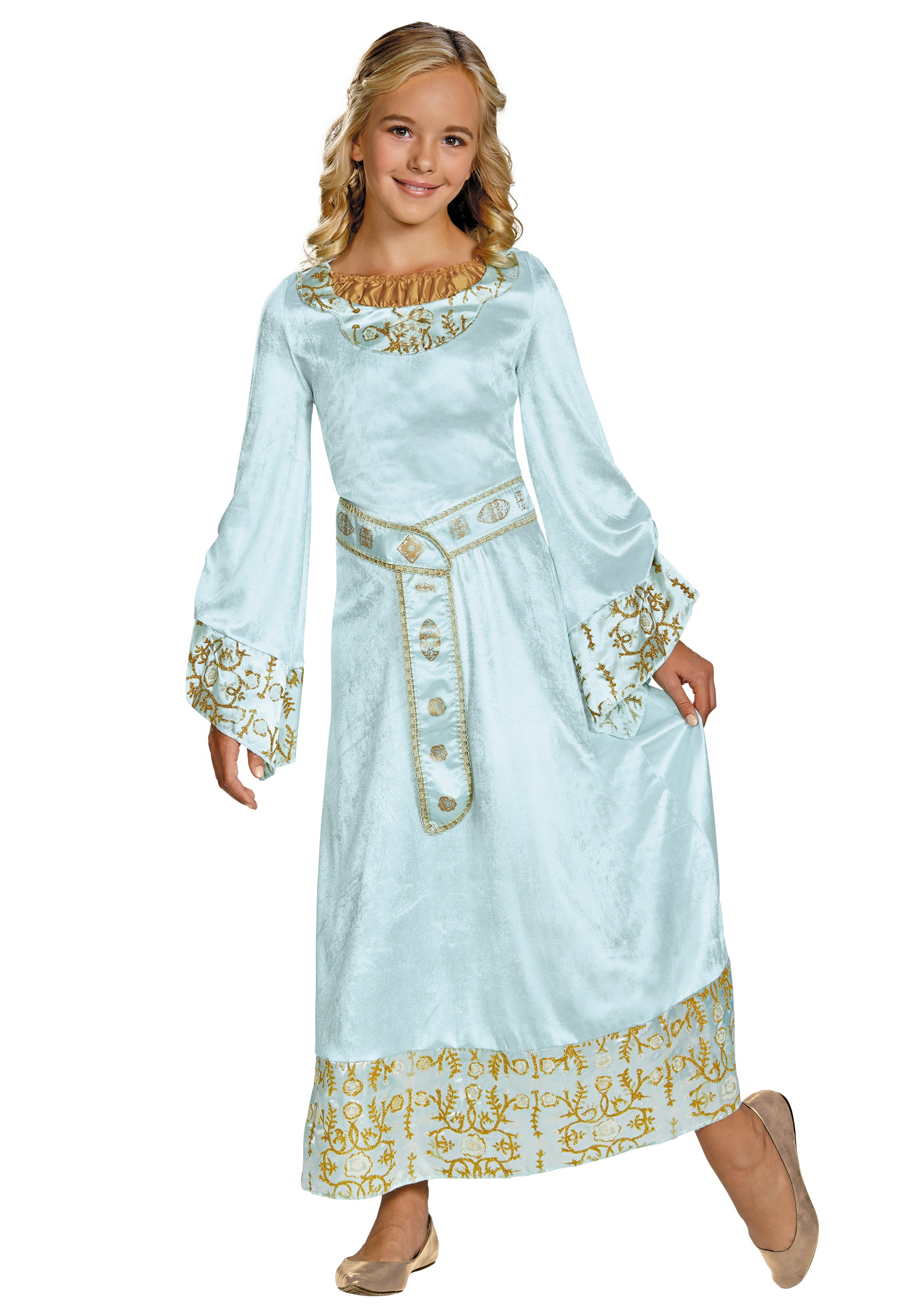 Girls Deluxe Aurora Blue Dress Costume  sc 1 st  Halloween Costumes : toddler aurora costume  - Germanpascual.Com