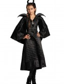 Girls Deluxe Black Maleficent Christening Gown Costume buy now
