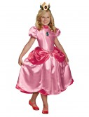 Girls Deluxe Princess Peach Costume buy now
