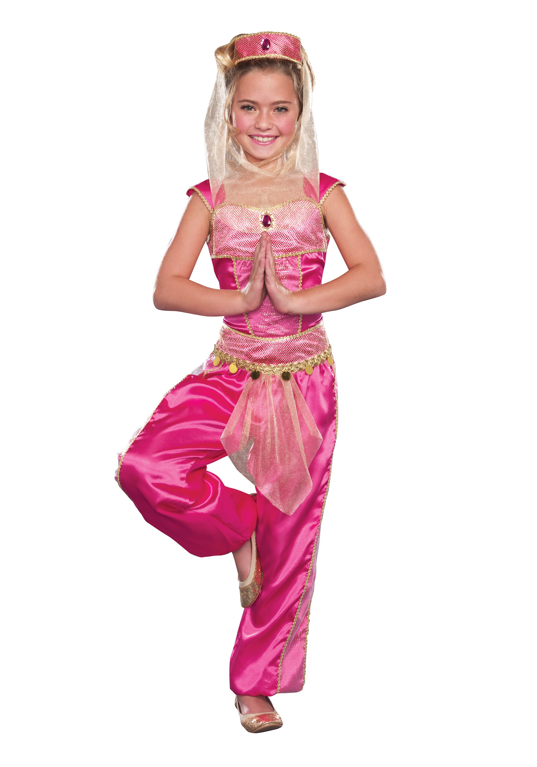 Girls Dream Genie Costume  sc 1 st  Halloween Costumes : gypsy kid costume  - Germanpascual.Com