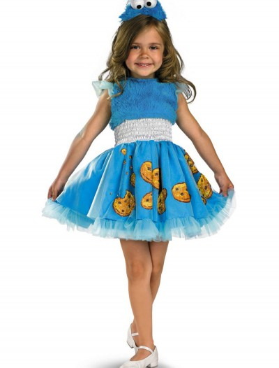 Girls Frilly Cookie Monster Costume buy now