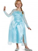 Girls Frozen Classic Elsa Snow Queen Gown buy now