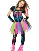 Girls Funky Punky Bones Costume buy now