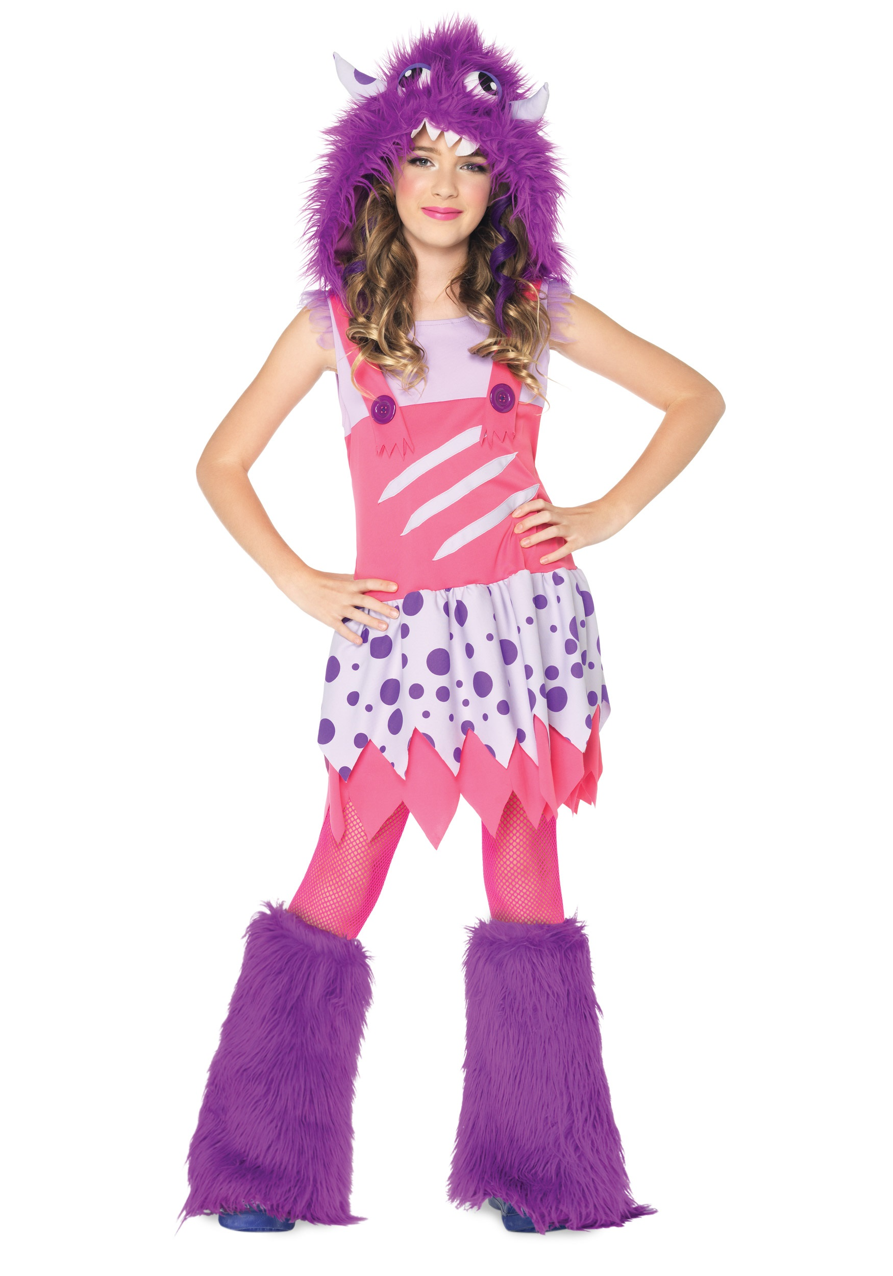 girls furball monster costume
