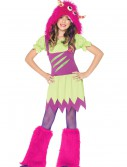 Girls Fuzzy Wuzzy Monster Costume buy now