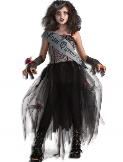 Girls Goth Prom Queen Costume buy now