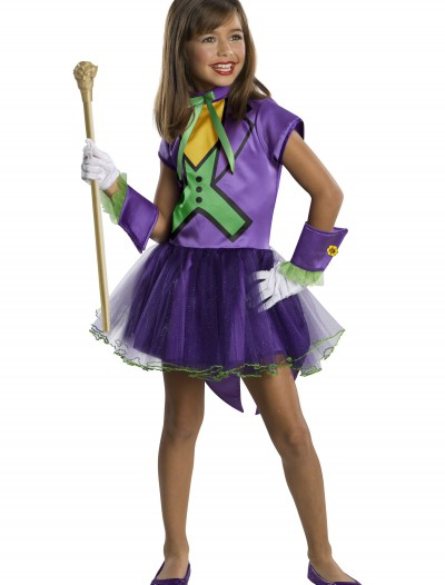 Girls Joker Tutu Costume buy now