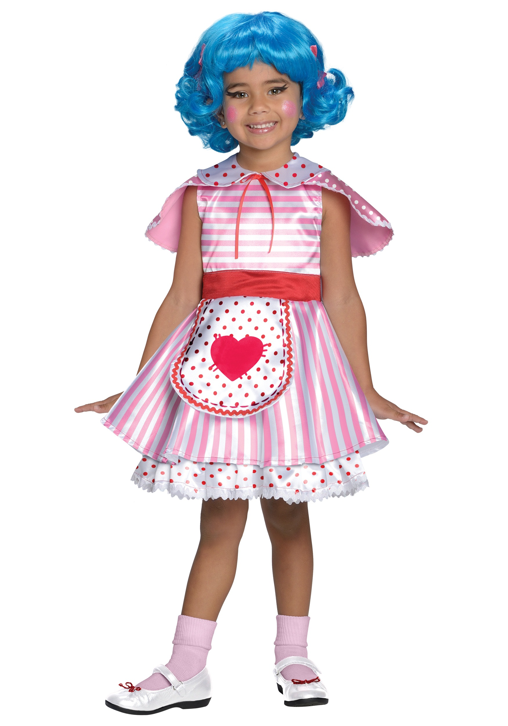 girls lalaloopsy deluxe rosy bumps n bruises costume