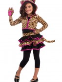 Girls Leopard Hoodie Costume buy now