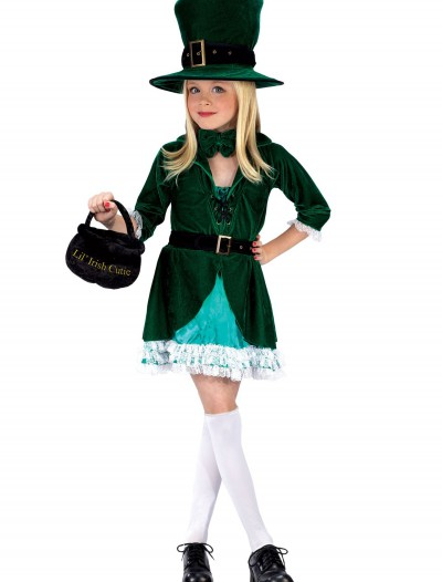 Girls Lucky Leprechaun Costume buy now