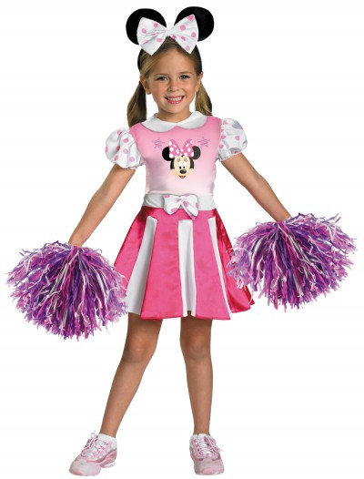 Girls Minnie Mouse Cheerleader Costume buy now