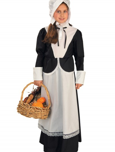Girls Pilgrim Costume buy now