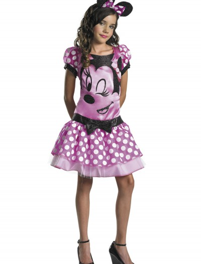 Girls Pink Minnie Mouse Costume buy now
