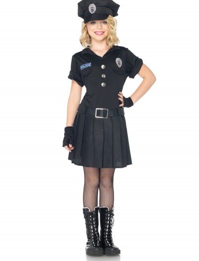 Girls Playtime Police Costume buy now