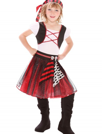 Girls Punky Pirate Costume buy now