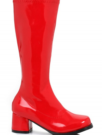 Girls Red Gogo Boots buy now