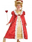 Girls Red Heart Princess Costume buy now