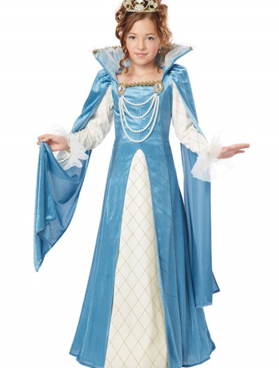 Girls Renaissance Queen Costume buy now