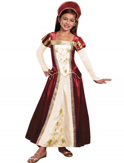 Girls Royal Maiden Costume buy now