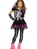 Girls Sally Skelly Costume buy now