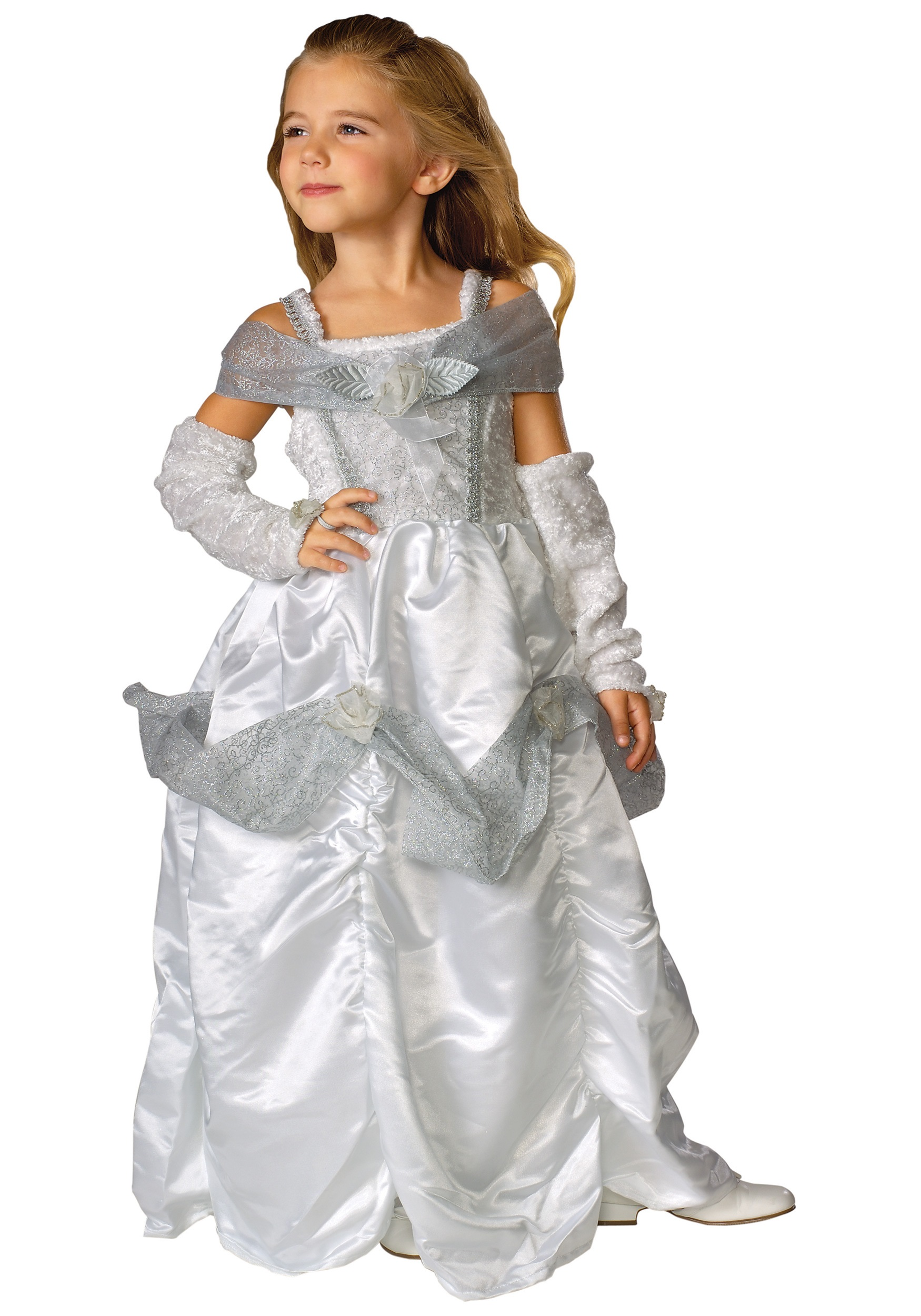 Girls Snow Queen Costume  sc 1 st  Halloween Costumes & Girls Snow Queen Costume - Halloween Costumes