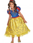 Girls Snow White Sparkle Deluxe Costume buy now