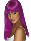 Glamourama Neon Purple Wig buy now