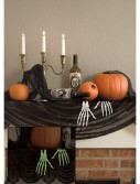 Glow in the Dark Skeleton Hands Mantle Scarf buy now
