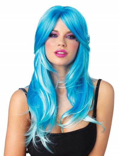 Glow Two-Tone Long Wavy Wig buy now
