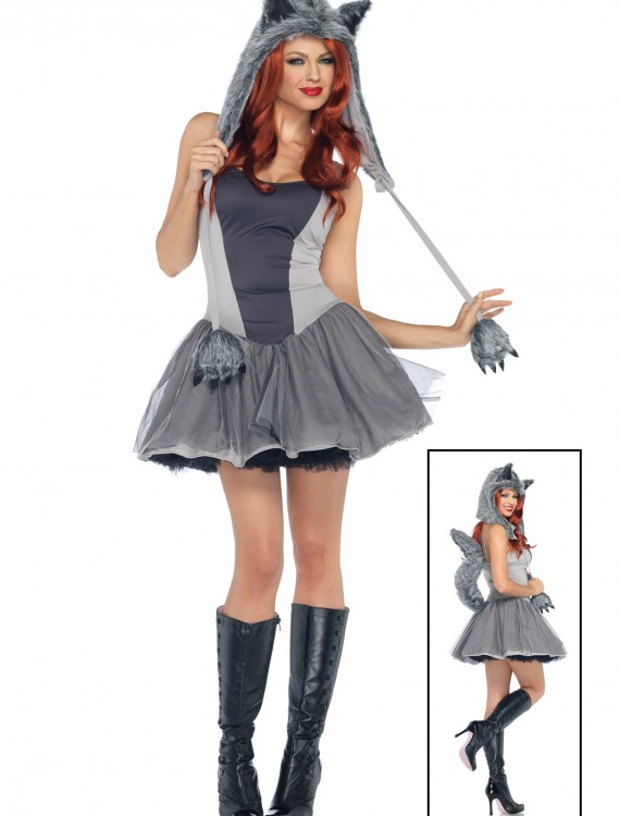 Gorgeous Grey Wolf Costume buy now