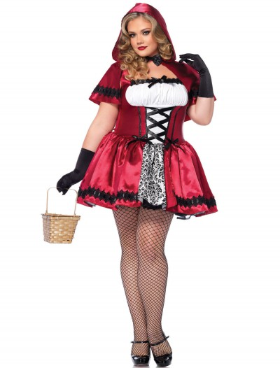 Gothic Red Riding Hood Plus Size Costume buy now