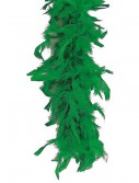 Green 80 Gram Feather Boa buy now