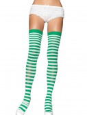 Green and White Nylon Stockings buy now
