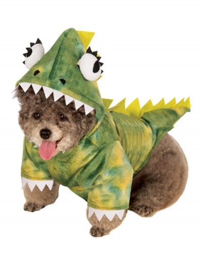 Green Dinosaur Hoodie Pet Costume buy now