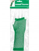 Green Fishnet Long Gloves buy now