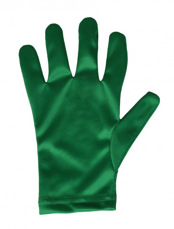 Adult Green Gloves buy now
