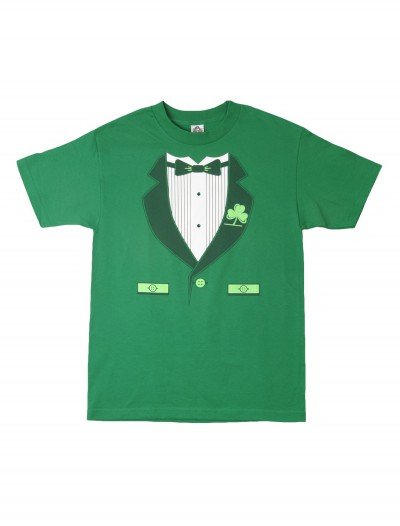 Green Irish Tuxedo T-Shirt buy now