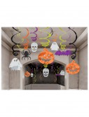 Halloween Hanging Swirl Decorations 30 Pack buy now