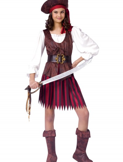 High Seas Pirate Girl Costume buy now
