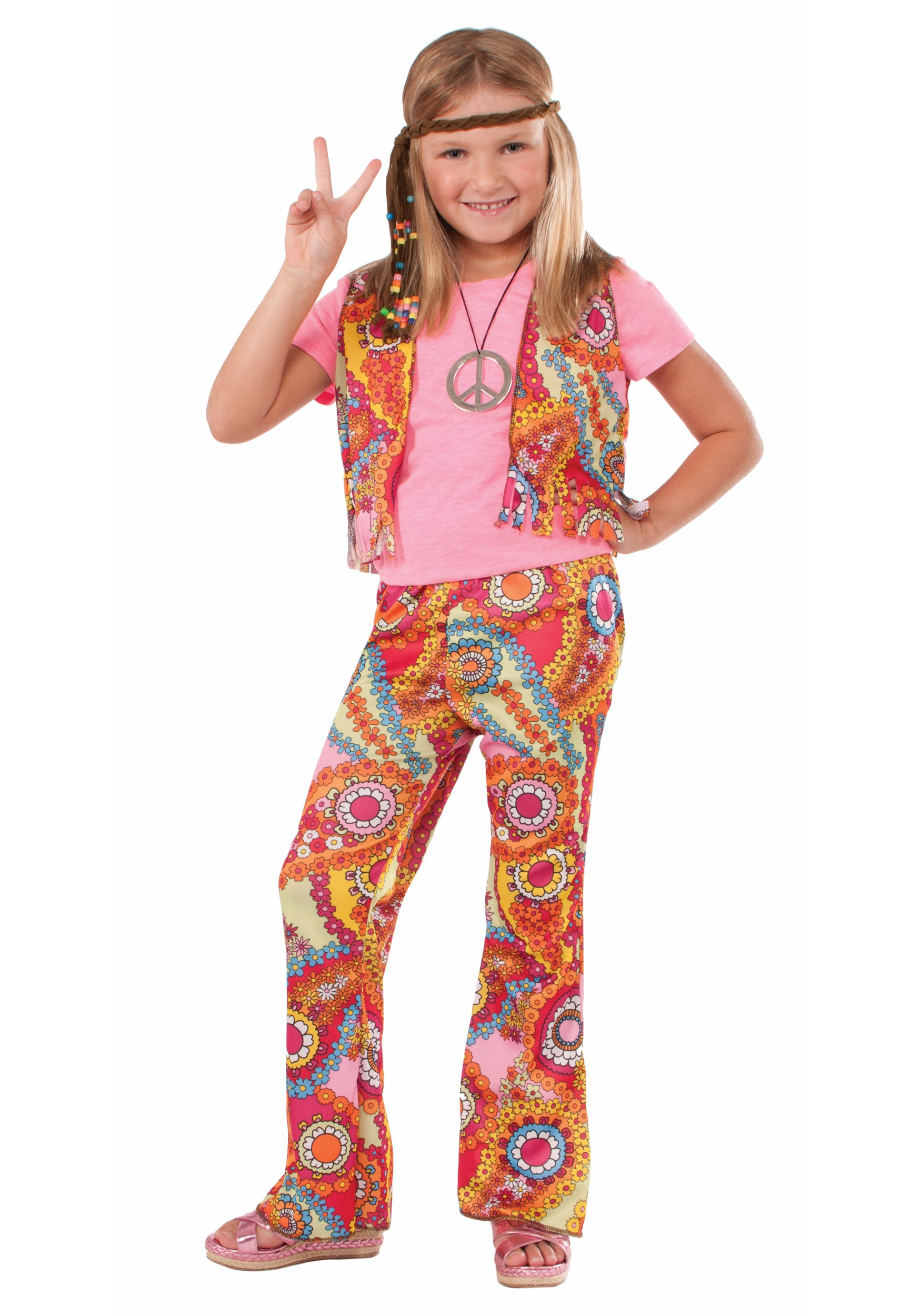 Hippie Girl Costume  sc 1 st  Halloween Costumes & Hippie Girl Costume - Halloween Costumes