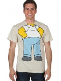 Homer Simpson Costume Shirt buy now