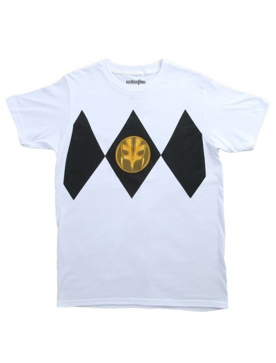 I Am White Power Ranger Costume T-Shirt buy now