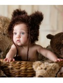 Infant Brown Bear Hat buy now